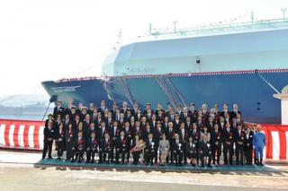 "New LNG Carrier for Ichthys LNG Project Named ""OCEANIC BREEZE"""