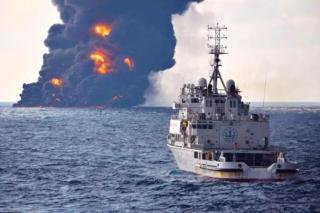 Burning oil tanker Sanchi totally sinks: authority (Video)