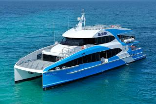 New Catamaran Passenger Ferry in Operation on Sydney Harbour