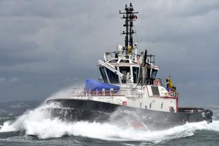 Second Sanmar VSP tug joins sister vessel in Israel