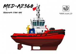 Second Tugboat From Med Marine To America In 2019