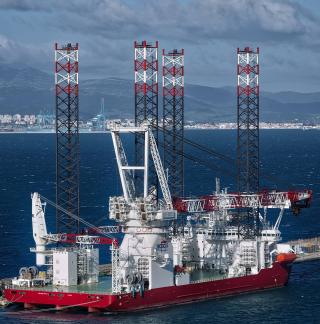 Gibdock mobilizes giant wind farm installation jack-up
