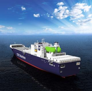 TOTE and MAN Diesel & Turbo partners to convert the 'North Star' and 'Midnight Sun' to dual-fuel operation on LNG