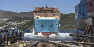 Maersk Supply Service launches Starfish AHTS vessel