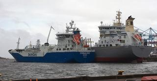 Coralius supplies LNG at the Port of Gothenburg