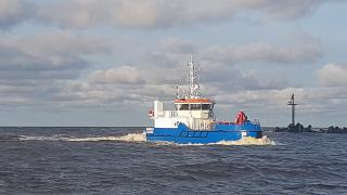 Klaipeda Seaport Authority expands its fleet with new oil response and diving support vessel