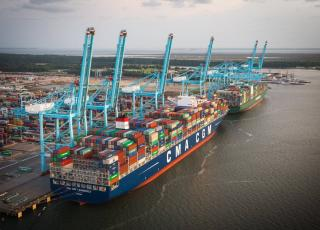 Port of Virginia sets new annual volume record in 2017 having handled 2.84 million TEUs