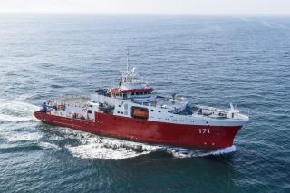 Freire Shipyard delivers DNV GL-classed BAP Carrasco