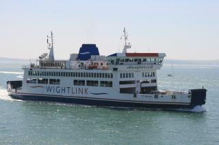 Farewell to Wightlink's St Cecilia
