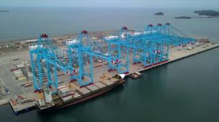APM Terminals' Moín Container Terminal (MCT) receives first vessel (Video)
