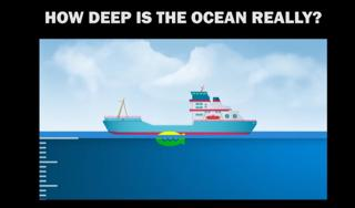 Curious to Know and See: How deep is the Ocean Really? (Video)