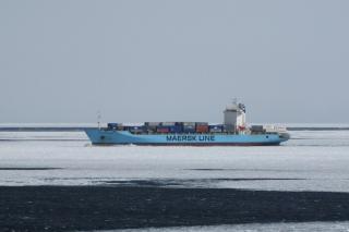 Seafarer remains missing after falling overboard the Maersk Patras