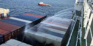 Incident on board APL Vancouver - UPDATE