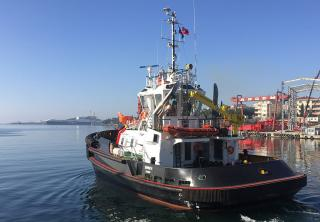 Sanmar delivers sixth tugboat to Rimochitori Napolitani