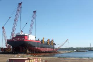 TSHD MAGDALEN successfully launched in USA