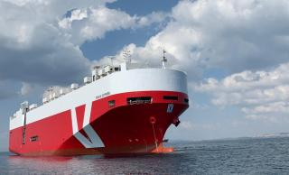 Car carrier Monza Express leaves Tersan Shipyard after successful completion of her second special survey