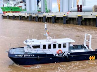 'State-of-the-art' Humber Surveyor Joins the Survey Fleet Working on the Humber Estuary