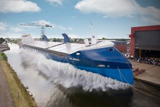 WATCH: Curious to know and see - SHIP LAUNCHING