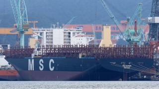 Mega Container ship MSC Eloane delivered