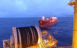 Spotted: Safe Offloading on Western Isles FPSO