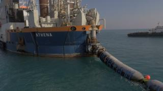 Van Oord: Impressive ground improvement project in Kuwait delivered (Video)