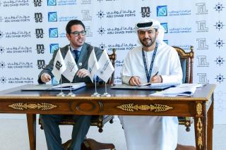 MSC develops a regional hub for container handling at Khalifa Port