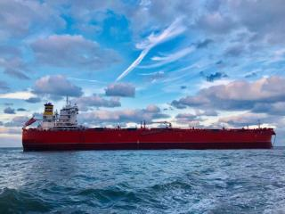 Delivery of the first vessel in Klaveness next generation of combination carriers, MV Baru