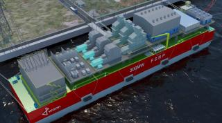 LR AiP granted for Wison 300MW Floating Storage, Regasification, Power Plant (FSRP) - VIDEO