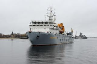 Russian Navy will get newest armament support ship in mid-December