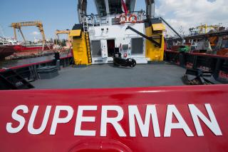SMS Towage takes delivery of its seventh ASD tug from Sanmar Shipyards