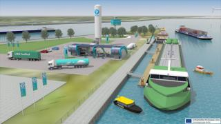 Port of Rotterdam plans new multifuel bunker station at Dordrecht for the refuelling of LNG and other cleaner fuels