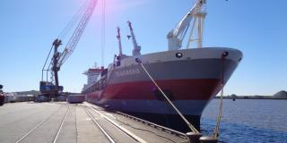 Wagenborg general cargo ship Taagborg destined for Deception Bay, Canada