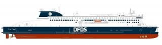DFDS charters new ship for the English Channel in 2021