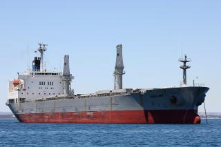 Australian ship's final voyage blocked by angry crew