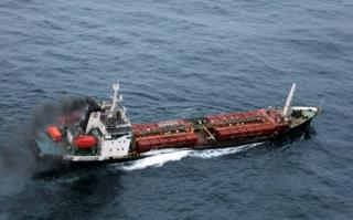Indian Navy Rushes To Assist Bitumen Tanker Taking On Water