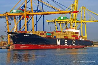 MSC ship released after detention for internet outage