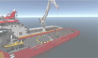 MacGregor's new ship-to-ship compensation system widens offshore load transfer windows (Video)