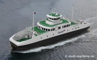 SCHOTTEL Rudder EcoPeller chosen for eight newly-built Norwegian ferries