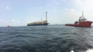 Jumbo installs first FLNG in Africa
