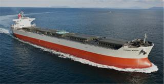 "K-Line announces delivery of 'Corona' Series Coal Carrier ""CORONA XANADU"""