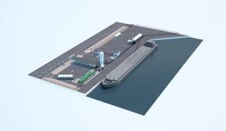 First Alternative Energy Hub with LNG for inland navigation and road transport in Belgium (Video)