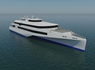 Austal and JR Kyushu Jet Ferry propose international high-speed trimaran solution in Japan