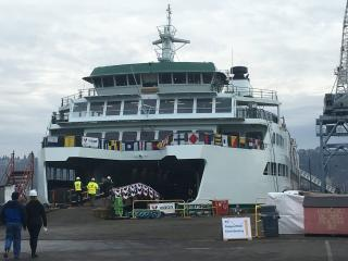 Washington State Christens New Ferry Suquamish