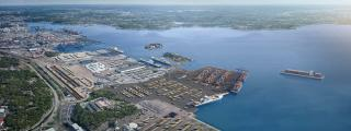 Port of Gothenburg plans to make use of contaminated clay from the seabed to build a new freight terminal (Video)