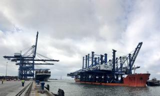 South Carolina Ports Welcomes New Ship-to-Shore Cranes