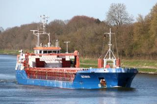 Cargo ship Altamar allided with tanker and ferry in Swinoujscie, Poland