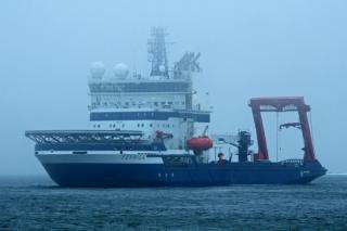 Shell's Fennica Icebreaker Goes To Portland For Repairs