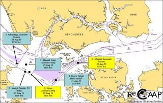 Six pirate attacks in two days in Straits of Malacca and Singapore