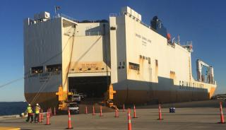 First Vessel Arrives At New Bayport RoRo Facility
