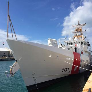 Bollinger Delivers the 31st Fast Response Cutter, USCGC Terrell Horne to US Coast Guard